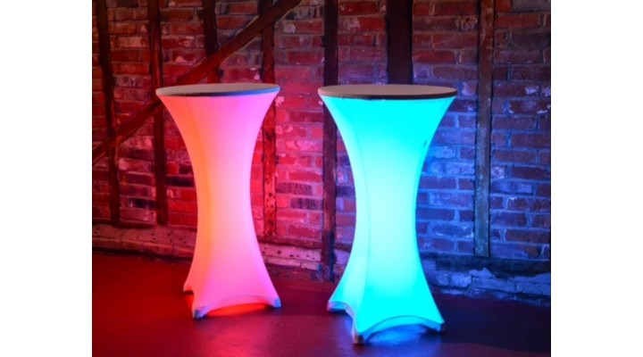 LED Poseur Table