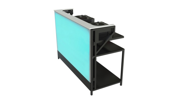 Sectional Back-Lit DJ Booth