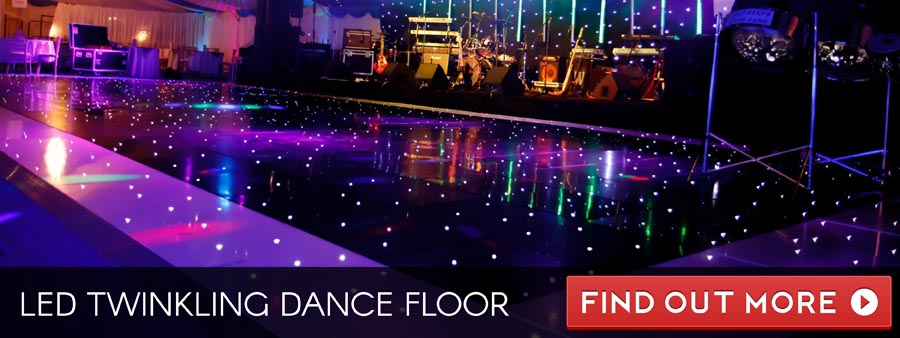 LED Twinkling Dance Floor