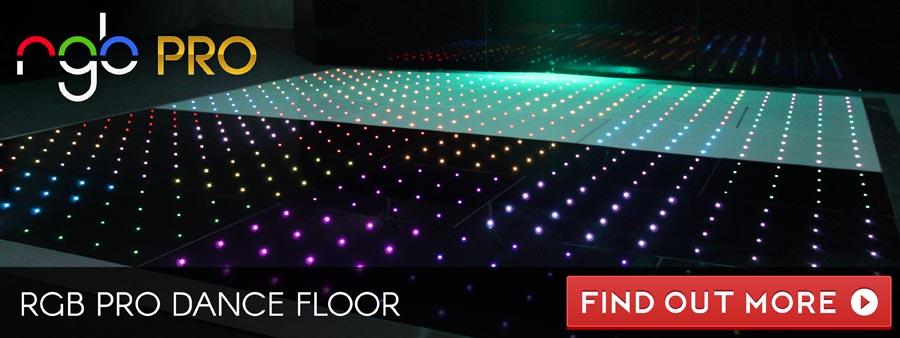 RGB Pro Dance Floor