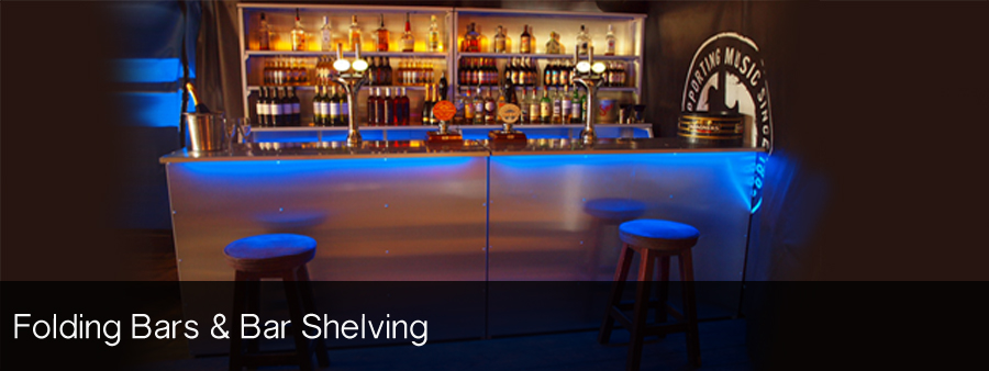 Folding Bars & Bar Shelving
