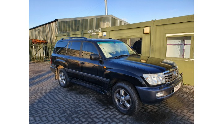 Toyota Land Cruiser Amazon 4.2 TD 2007 (Joe's Trusty Workhorse)