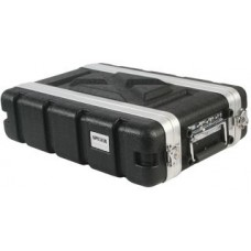 "19"" ABS Rack Flight Case - 2U Short"