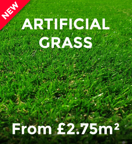 Artificial Grass from £2.75m²